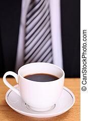 コーヒー, ビジネス男