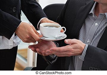 コーヒー, マネージャー