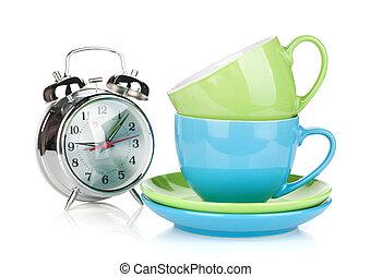コーヒー, 朝の時間