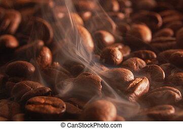 コーヒー, 焼けている