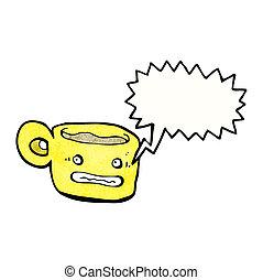 コーヒー, 特徴, 漫画, カップ