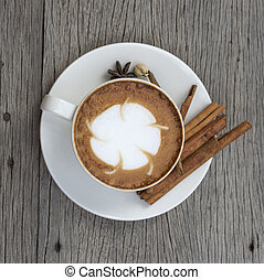 コーヒー, 芸術, latte