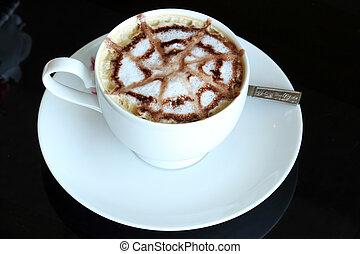 コーヒー, 芸術, latte, /