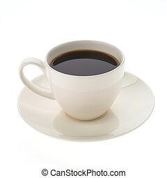コーヒー, 黒, カップ
