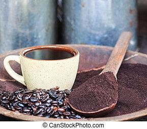 コーヒー, doi, 国民, inthanon, パー, 伝統的である, オリジナル
