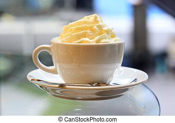 コーヒー, latte, エスプレッソ, 犯罪者, panna