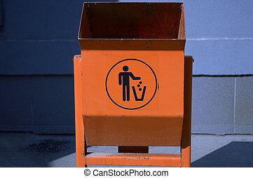 ゴミ箱, ∥で∥, 印