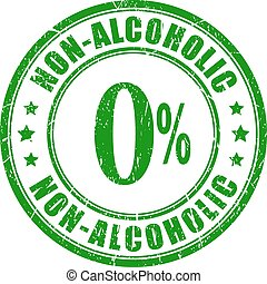 ゴム製 スタンプ, ∥ない∥, アルコール中毒患者