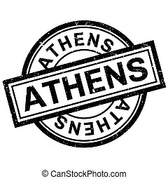 ゴム製 スタンプ, アテネ