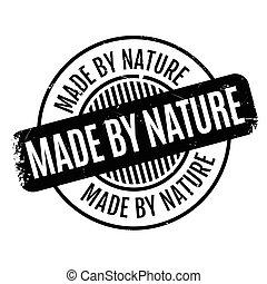 ゴム製 スタンプ, 作られた, 自然