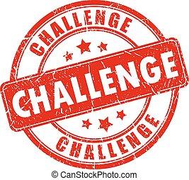 ゴム製 スタンプ, 挑戦