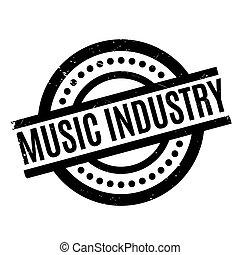 ゴム製 スタンプ, 産業, 音楽