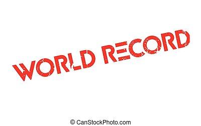 ゴム, 世界, レコード, 切手