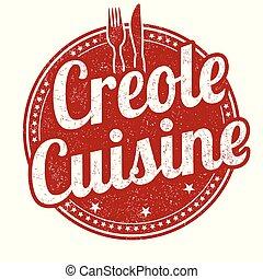 ゴム, 料理, creole, グランジ, 切手