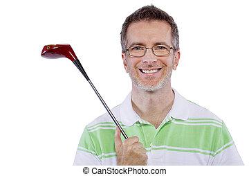 ゴルファー, 中年
