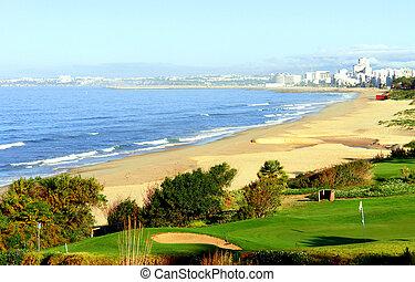 ゴルフコース, 海