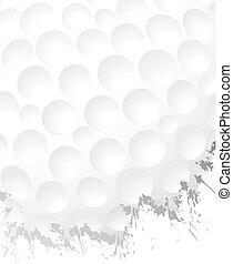 ゴルフボール, グランジ, 背景