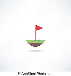 ゴルフ, アイコン