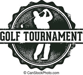 ゴルフ, トーナメント, 切手