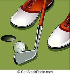 ゴルフ, パッティング