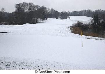 ゴルフ, 冬