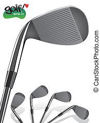 ゴルフ, 鉄