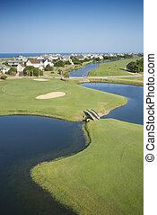 ゴルフ, course., 沿岸である