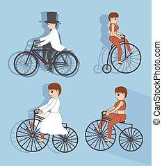 サイクリスト, マレ, 女性