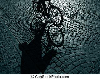 サイクリスト, 暗い