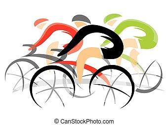 サイクリスト, 競争