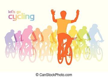 サイクリング, グループ