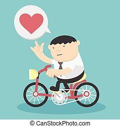 サイクリング, 愛, ビジネス, ショー