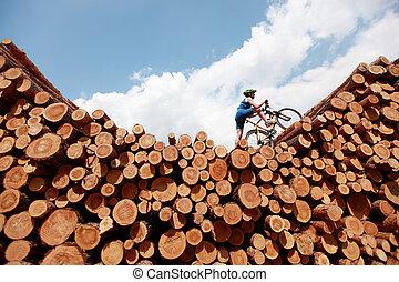 サイクリング, 極点