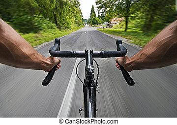 サイクリング, 道