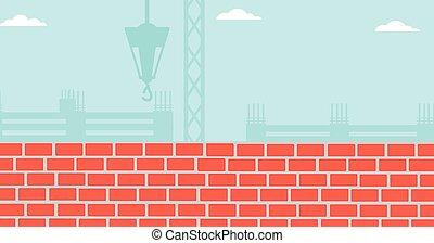 サイト。, 建設, 背景