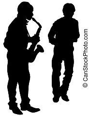 サクソフォーン, ジャズ