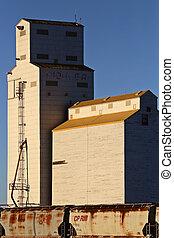 サスカチェワン, 穀物倉庫