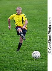 サッカープレーヤー