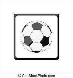 サッカーボール, アイコン