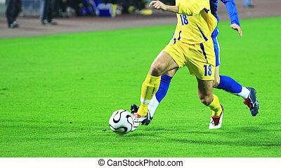 サッカーマッチ