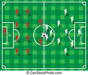 サッカー, 形成, フットボール
