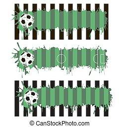 サッカー,  blots, ピッチ