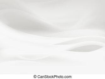 サテン, 白
