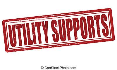 サポート, 公益事業