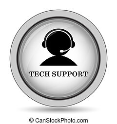 サポート, 技術, アイコン