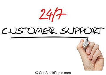 サポート, 7, 執筆, 24, 手, 顧客