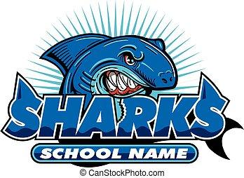 サメ, デザイン, チーム
