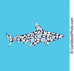 サメ, ベクトル
