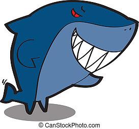 サメ, 漫画, 涼しい