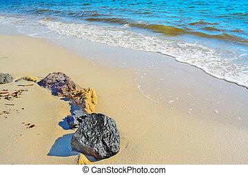 サルジニア, 海岸, 岩